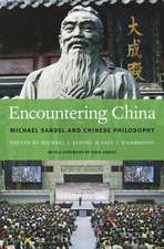 Encountering China – Michael Sandel and Chinese Philosophy