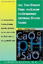 All You Really Need to Know to Interpret Arterial Blood Gases