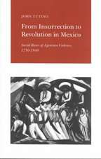 From Insurrection to Revolution in Mexico – Social Bases of Agrarian Violence, 1750–1940