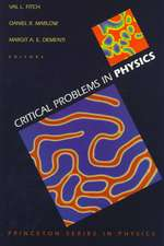 Critical Problems in Physics