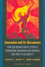 Innovation and Its Discontents – How Our Broken Patent System is Endangering Innovation and Progress, and What to Do About It