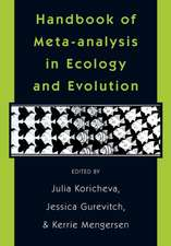 Handbook of Meta–Analysis in Ecology and Evolution