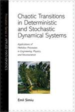 Chaotic Transitions in Deterministic and Stochastic Dynamical Systems – Applications of Melnikov Processes in Engineering, Physics, and