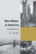 Max Weber in America