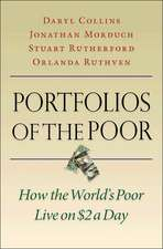 Portfolios of the Poor – How the World`s Poor Live on $2 a Day