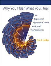 Why You Hear What You Hear – An Experiential Approach to Sound, Music, and Psychoacoustics