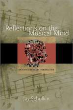Reflections on the Musical Mind – An Evolutionary Perspective
