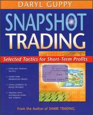 Snapshot Trading:  Selected Tactics for Short-Term Profits