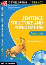 Sentence Structure and Punctuation - Ages 5-6