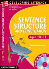 Sentence Structure and Punctuation - Ages 10-11