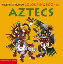 British Museum Colouring Book of Aztecs