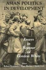 Asian Politics in Development:  Essays in Honour of Gordon White
