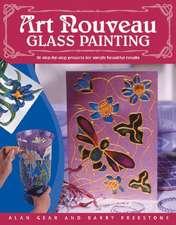 Art Nouveau Glass Painting