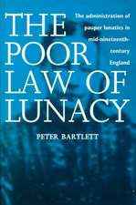 The Poor Law of Lunacy