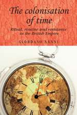 The Colonisation of Time