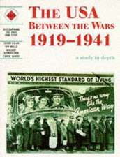 The USA Between the Wars 1919-1941:  A Study in Depth