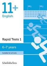 11+ English Rapid Tests Book 1: Year 2, Ages 6-7