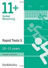 11+ Verbal Reasoning Rapid Tests Book 5: Year 6, Ages 10-11