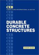 Durable Concrete Structures:  Design Guide