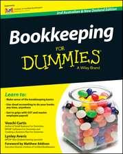 Bookkeeping For Dummies – Australia / NZ