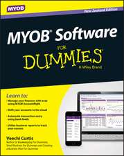 MYOB Software For Dummies – NZ