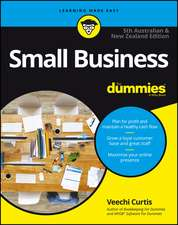 Small Business For Dummies – Australia & New Zealand