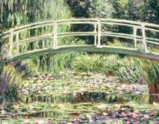 "Monet Waterlily Garden Keepsake Boxed Notecards [With 16 4-1/4 X 5-1/2"" Note Cards and 17 Sage-Green Envelopes]"