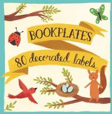 Forest Friends Bookplates:  480 Sticky Notes