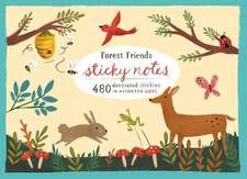 Forest Friends Sticky Notes