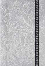 Carnet Christian Lacroix Argintiu  A5 Paseo