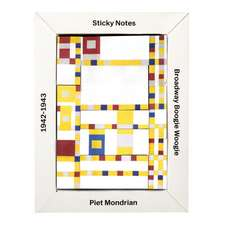 Mondrian Sticky Notes Box