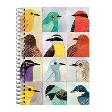 """Avian Friends Wire-O Journal 6 X 8.5"""""""