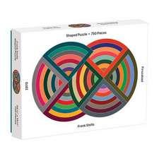 Moma Frank Stella 750 Piece Shaped Puzzle