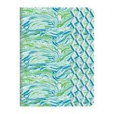 Designers Guild-Jourdain Handmade Embroidered A5 Journal