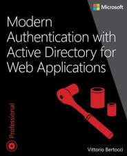 Modern Authentication with Azure Active Directory for Web Applications:  Monitoring and Operating a Private Cloud