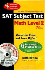 Sat Subject Test, Math Level 2 -- the Best Test Prep