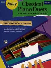 EASY CLASSICAL PIANO DUETS FOR