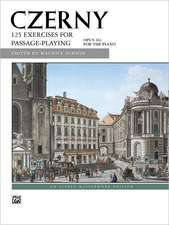 Czerny -- 125 Exercises for Passage Playing, Op. 261