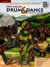 World Rhythms! Arts Program Presents West African Drum & Dance: A Yankadi-Macrou Celebration (Teacher's Guide), Book, DVD & CD