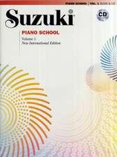 Suzuki Piano School Vol. 1 New International Edition