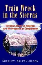 Train Wreck in the Sierras