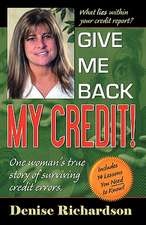 Give Me Back My Credit!