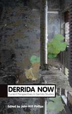 Derrida Now: Current Perspectives in Derrida Studies