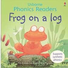Frog On A Log Phonics Reader