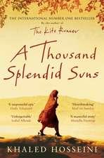 Hosseini, K: Thousand Splendid Suns