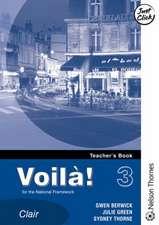 Voila! 3 Clair Lower Teacher's Book