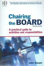 Chairing the Board