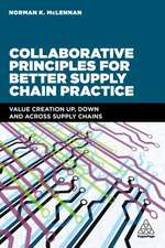 Collaborative Principles for Better Supply Chain Practice