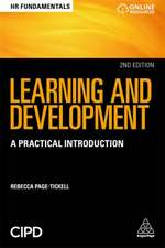Learning and Development: A Practical Introduction