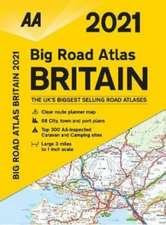 Big Road Atlas Britain 2021